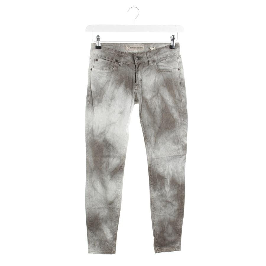Jeans von Drykorn in Taupe und Weiß Gr. W26