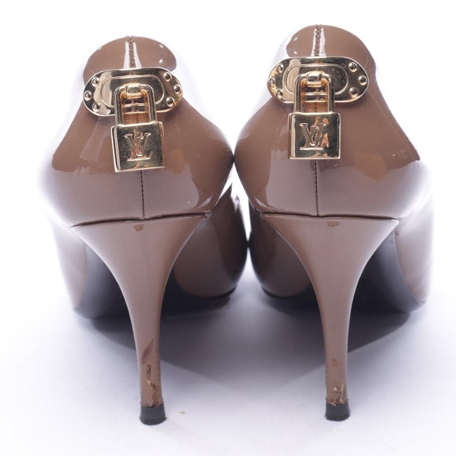 Pumps von Louis Vuitton in Braun und Gold Gr. EUR 38,5