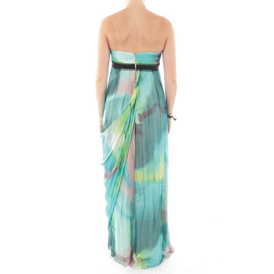 Kleid von BCBG Max Azria in Blau und Grün Gr. DE 32 US 2