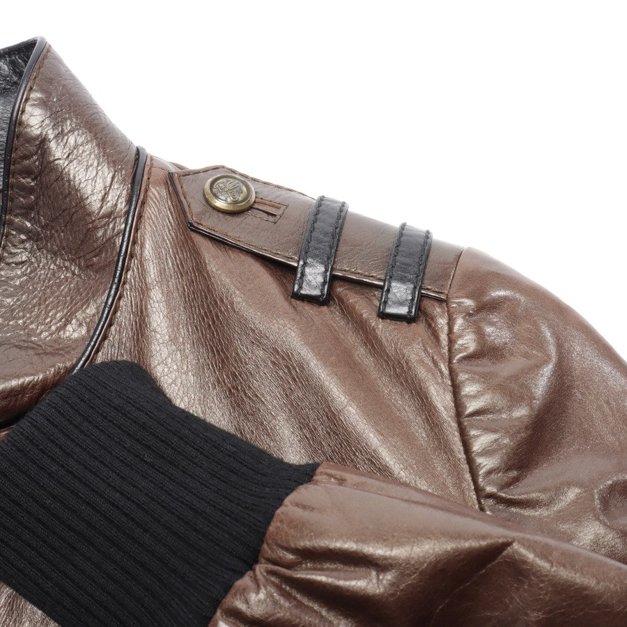 leather jacket / coat from Gucci in Brown size 34 IT 40
