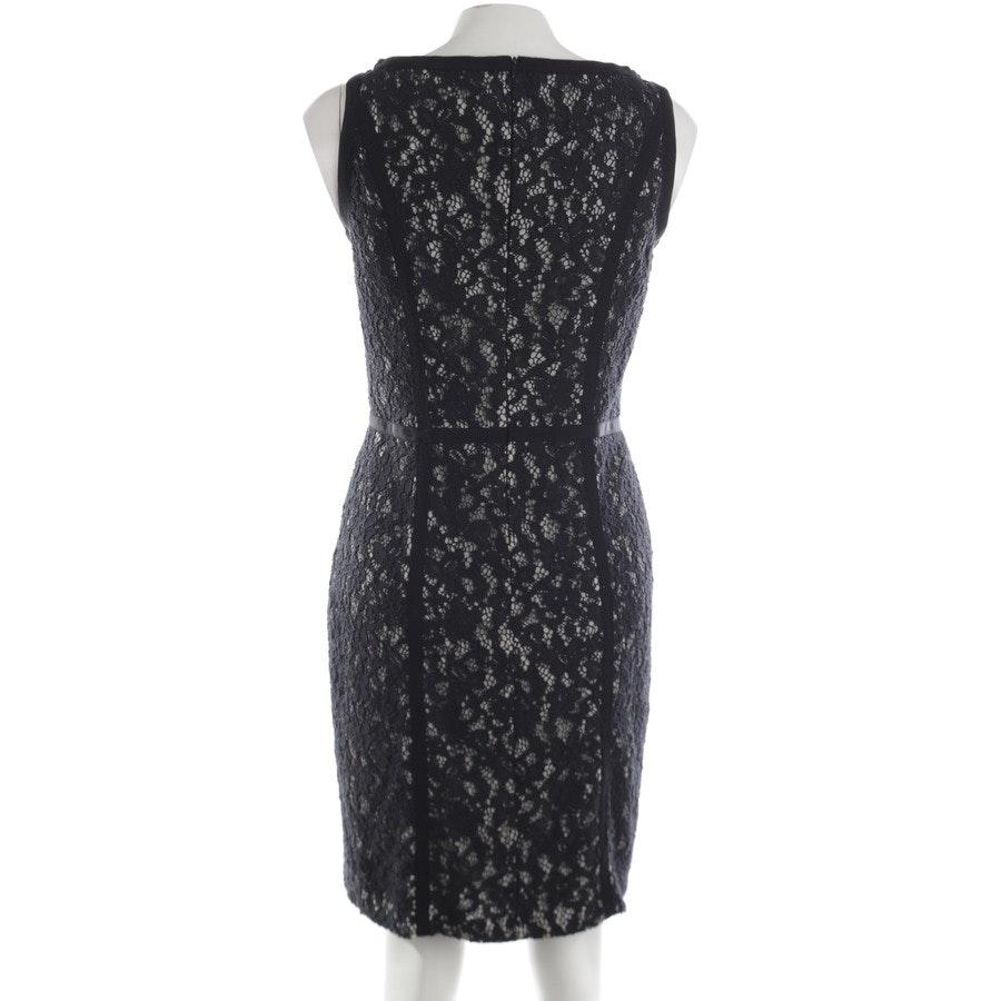 Kleid von Luisa Cerano in Schwarz und Beige Gr. 40