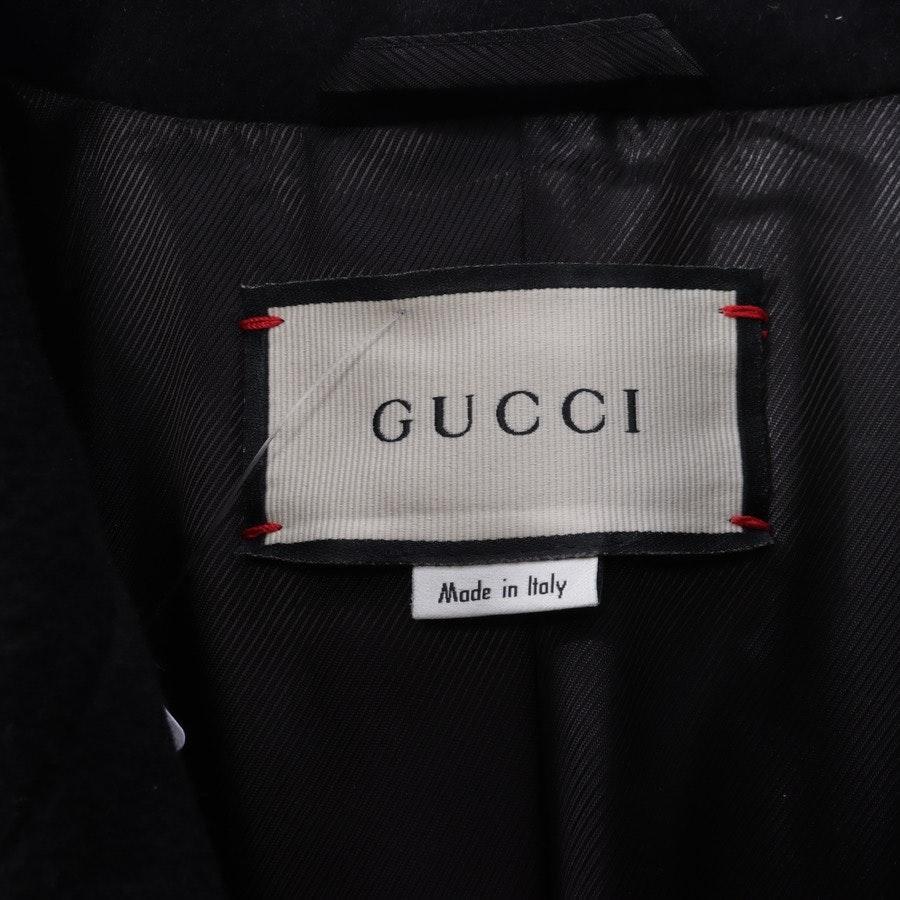 Wintermantel von Gucci in Schwarz Gr. 34 IT 40
