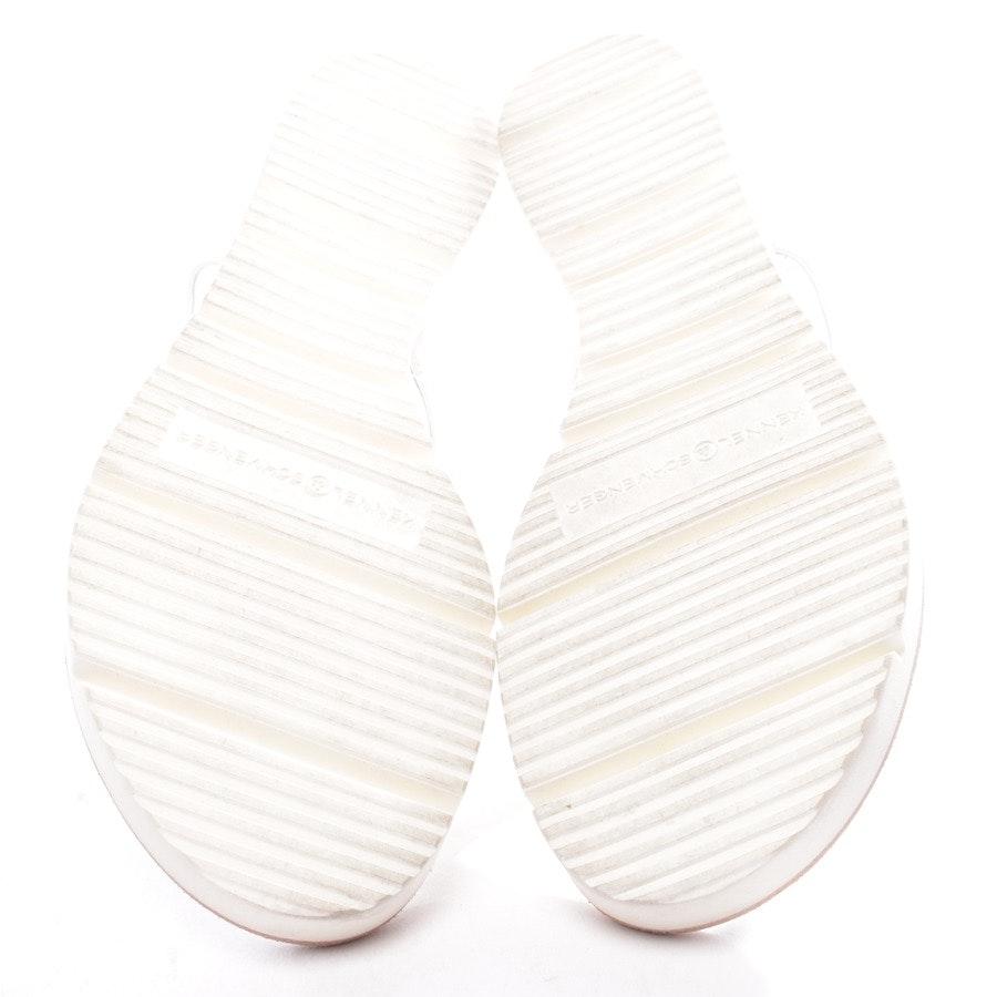 Sandalen von Kennel & Schmenger in Weiß und Silber Gr. EUR 39