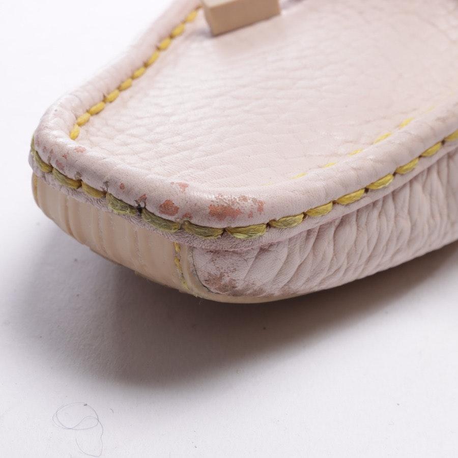 Mokassins von Louis Vuitton in Rosa und Gelb Gr. EUR 40,5