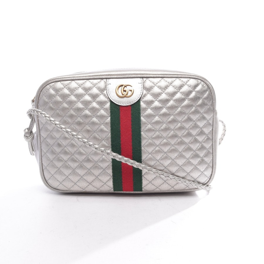 shoulder / messenger bag from Gucci in Silver Ophidia Silver Cross Body Bag
