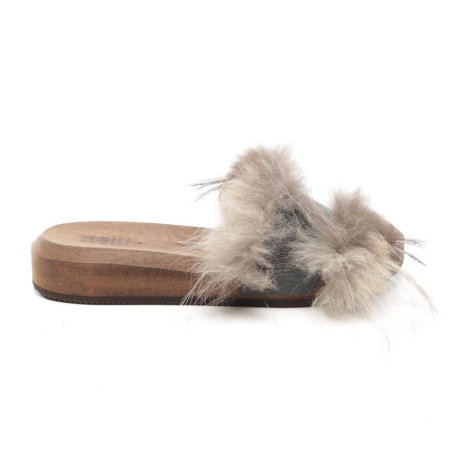 Sandalen von Brunello Cucinelli in Braun Gr. EUR 39