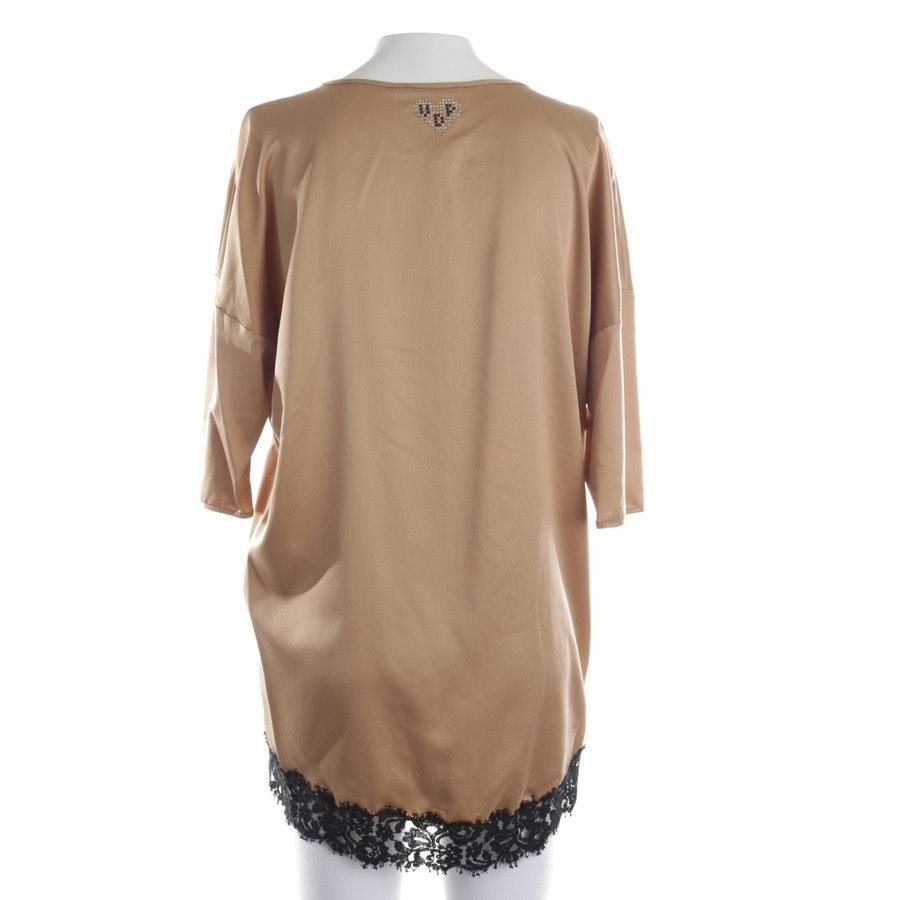 Bluse von VIADRELLEPERLE in Bronze und Mehrfarbig Gr. 34 IT 40