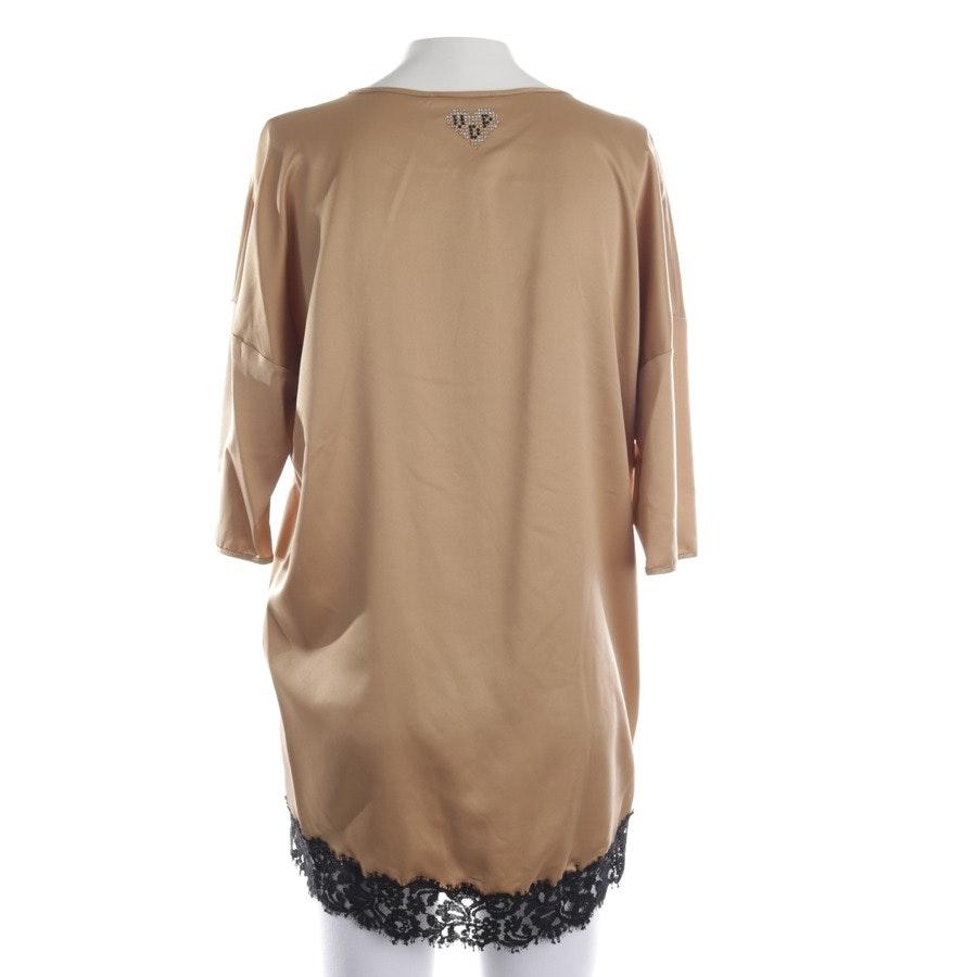 Bluse von VIADELLEPERLE in Bronze und Mehrfarbig Gr. 34 IT 40