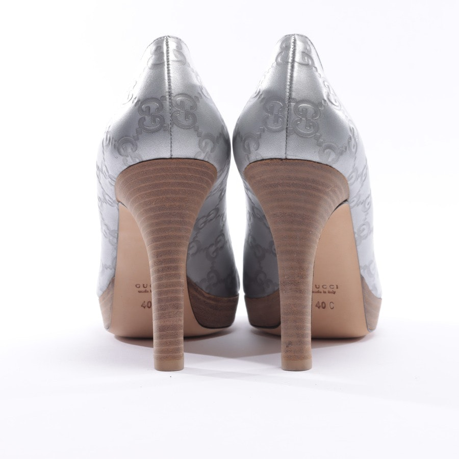 high heels from Gucci in Silver size 40 EUR Nowy
