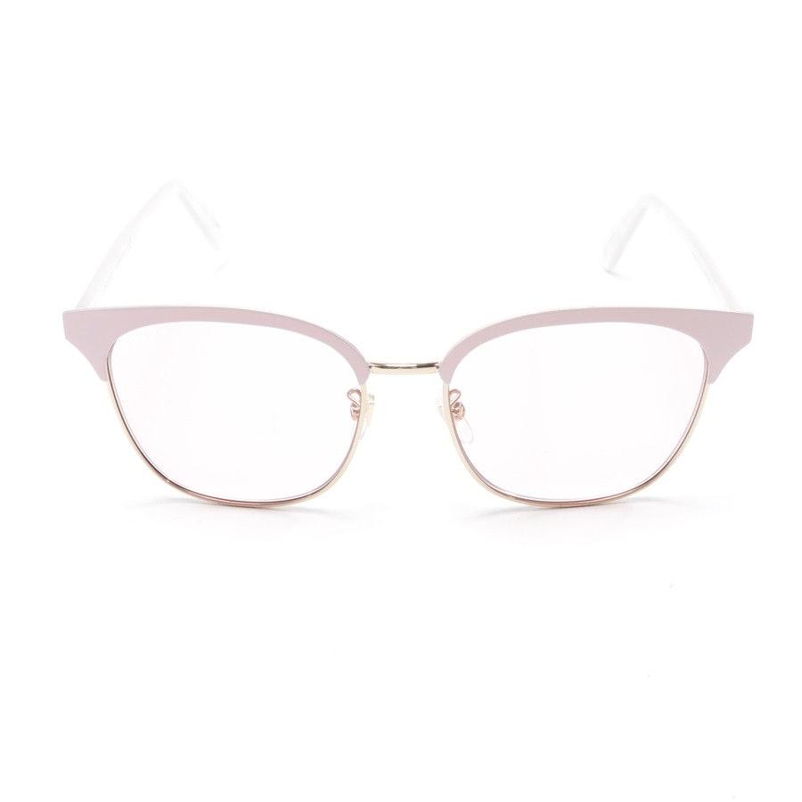 Sonnenbrille von Gucci in Rosa und Gold GG0244S Neu