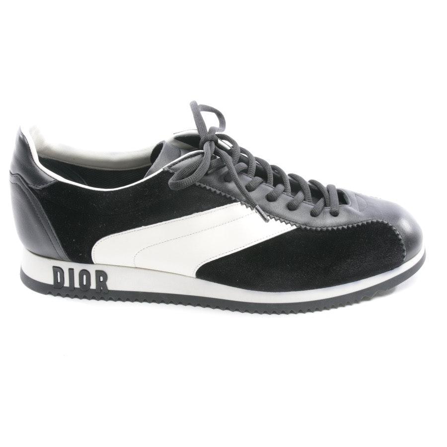 Sneaker von Dior in Cremeweiß und Schwarz Gr. D 41 - Diorun