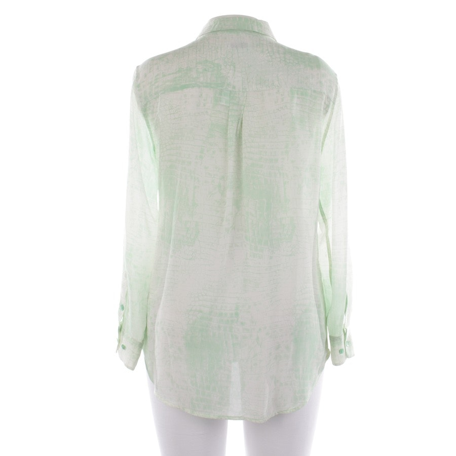 blouses & tunics from Equipment in cream white and green size L