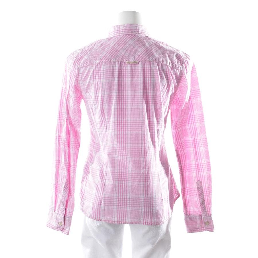 Bluse von Gaastra in Rosa und Weiß Gr. S
