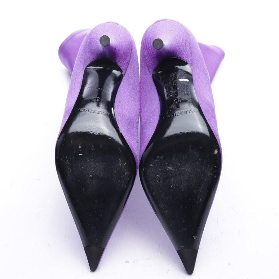 Stiefeletten von Balenciaga in Lila Gr. EUR 35 Neu