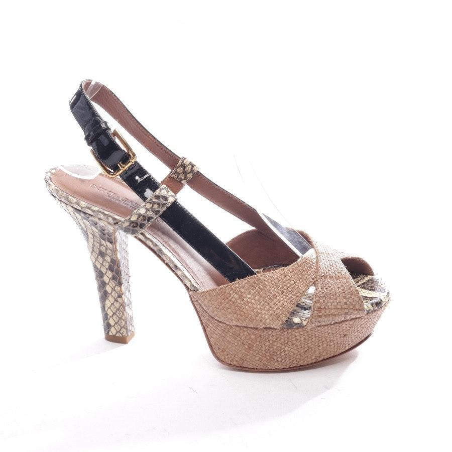 Sandaletten von Dolce & Gabbana in Mehrfarbig Gr. EUR 37 Neu