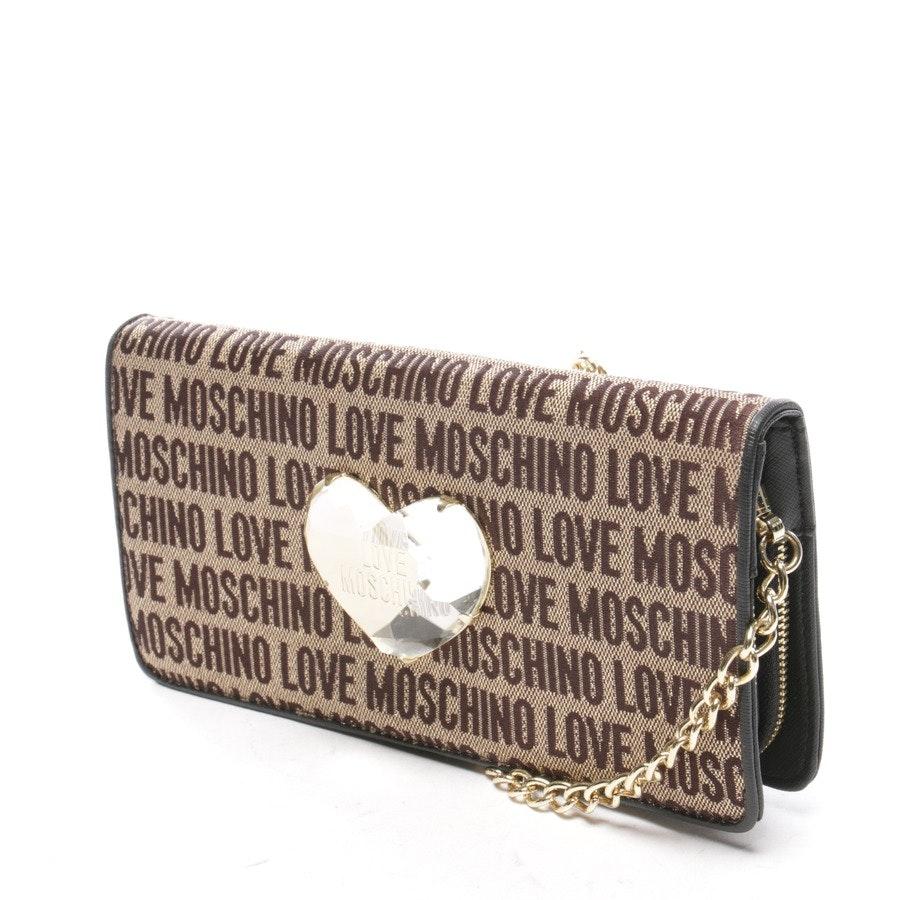 Abendtasche von Love Moschino in Beige und Braun