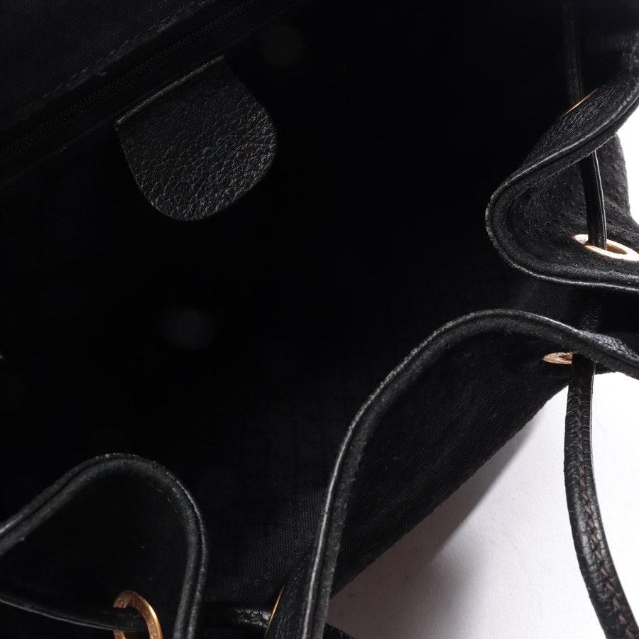 Rucksack von Gucci in Schwarz Bamboo Drawstring Backpack