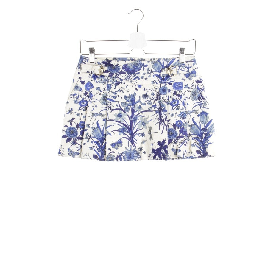 skirt from Gucci in white and blue size 32 IT 38 - new