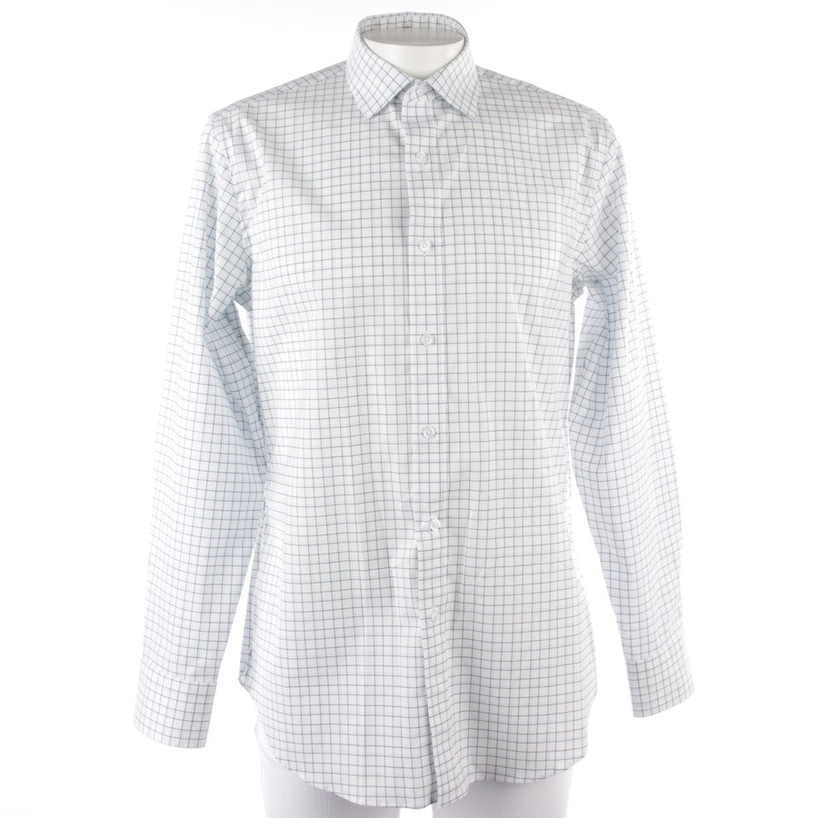 business shirt from J.CREW in white and blue size 34-35