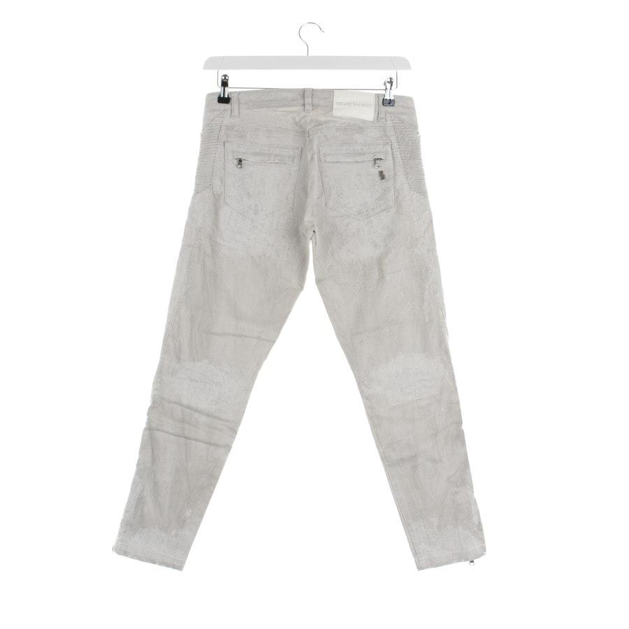 Jeans von Pierre Balmain in Hellgrau Gr. 38 IT 44