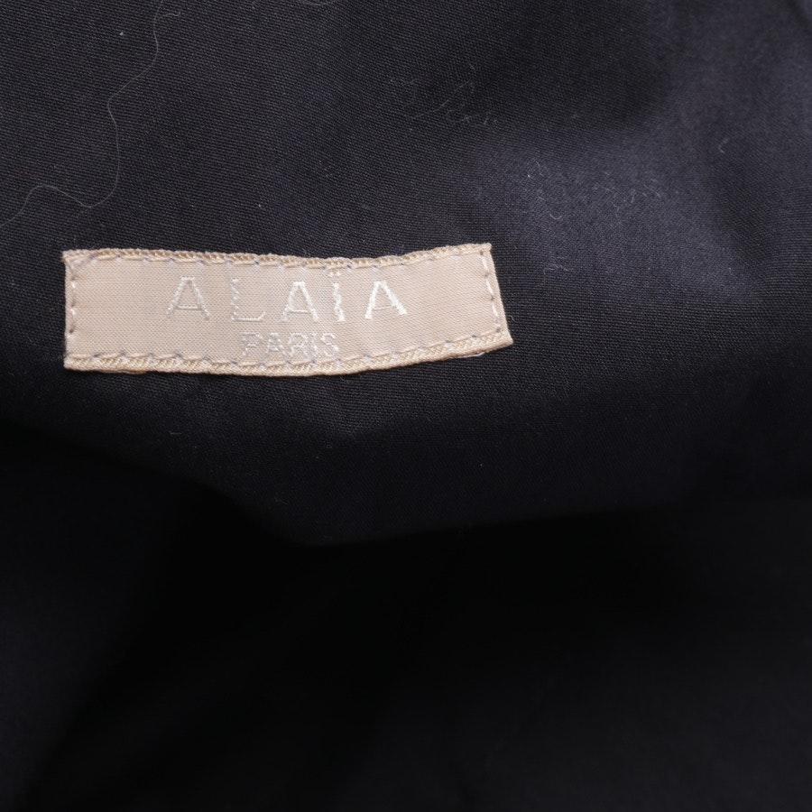Kleid von Alaia in Schwarz Gr. 36 FR38