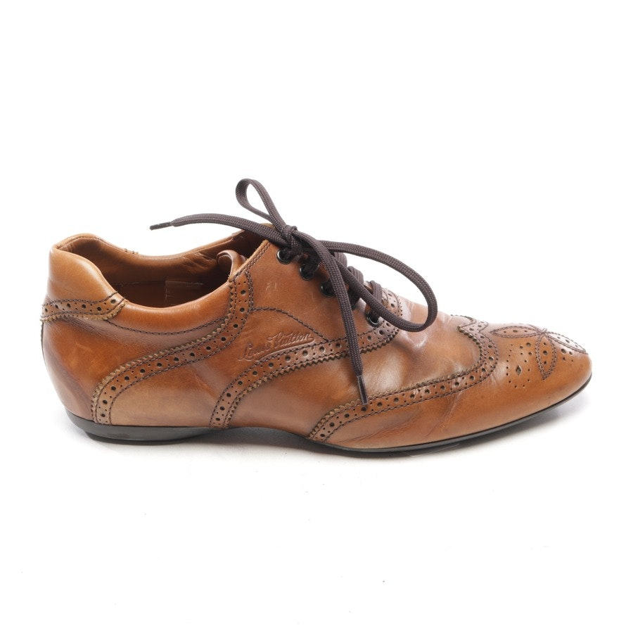 flats / loafers / shoes from Louis Vuitton in Cognac size EUR 42,5 UK 8