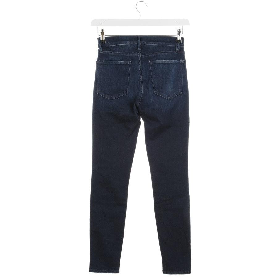 Jeans von Frame in Dunkelblau Gr. W27 Le High Skinny