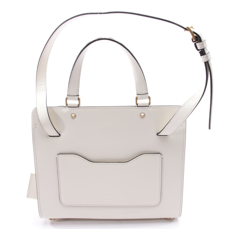 shoulder bag from Valentino in cream white - new
