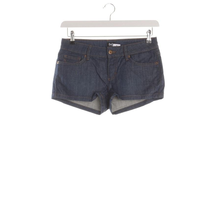 Shorts von D&G in Dunkelblau Gr. W28
