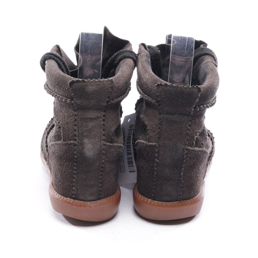 High-Top Sneaker von Isabel Marant in Dunkelbraun Gr. D 36 - Bobby