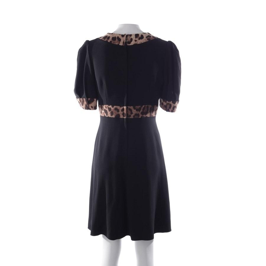Kleid von Dolce & Gabbana in Schwarz und Beige Gr. 34 IT 40