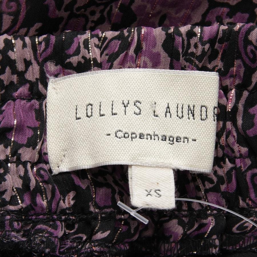 Maxirock von Lolly´s Laundry in Schwarz und Lila Gr. XS