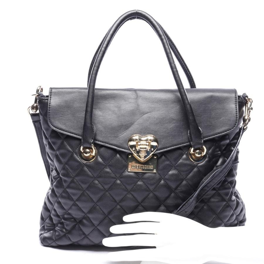Handtasche von Love Moschino in Schwarz und Gold
