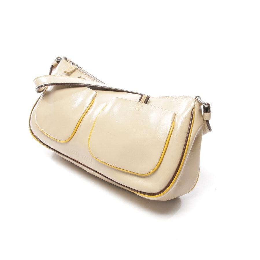 Handtasche von Miu Miu in Beige
