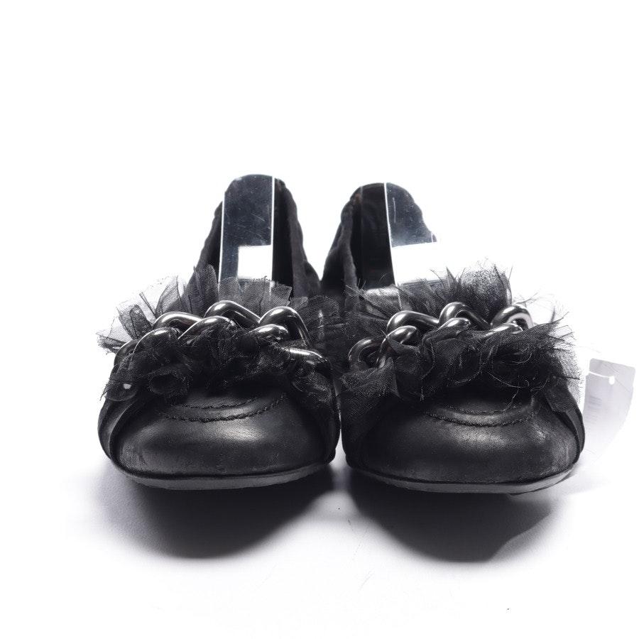 Ballerinas von Kennel & Schmenger in Schwarz Gr. EUR 40,5 UK 7