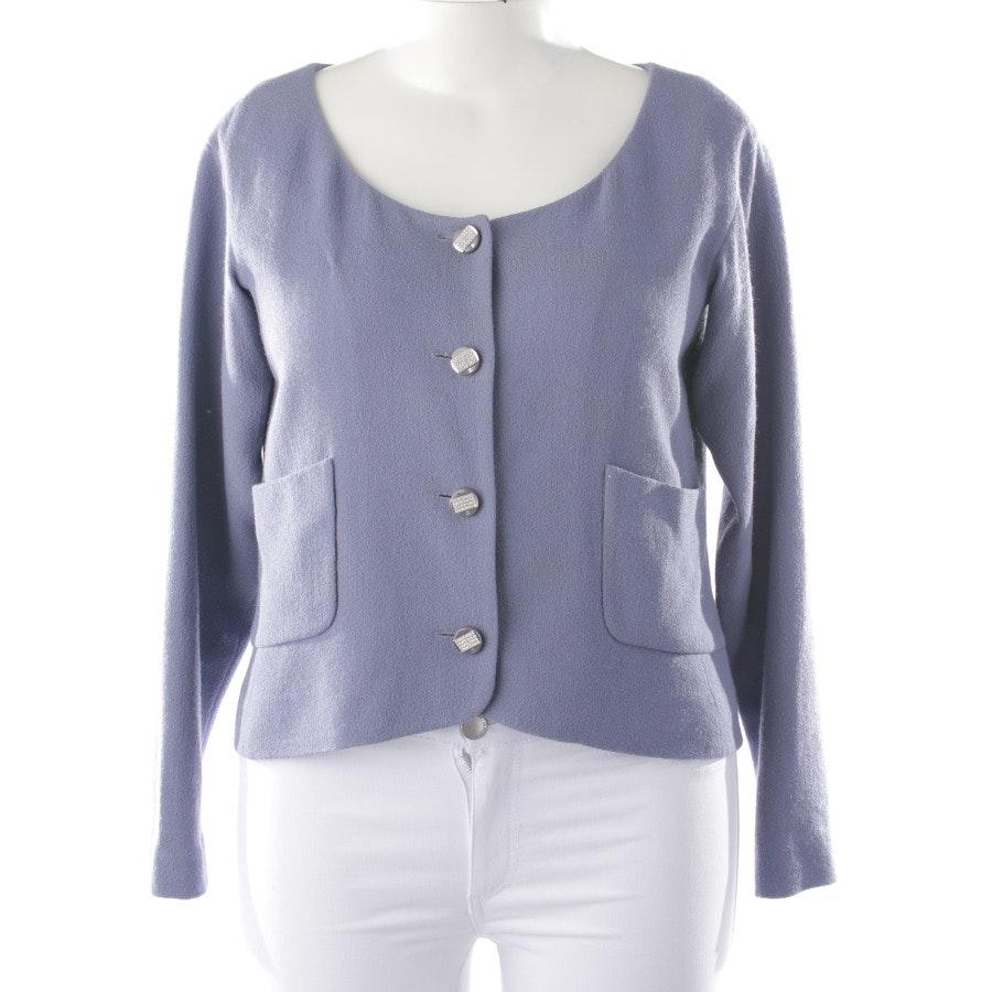 Wollblazer von Chanel in Lavendel Gr. 44 FR 46