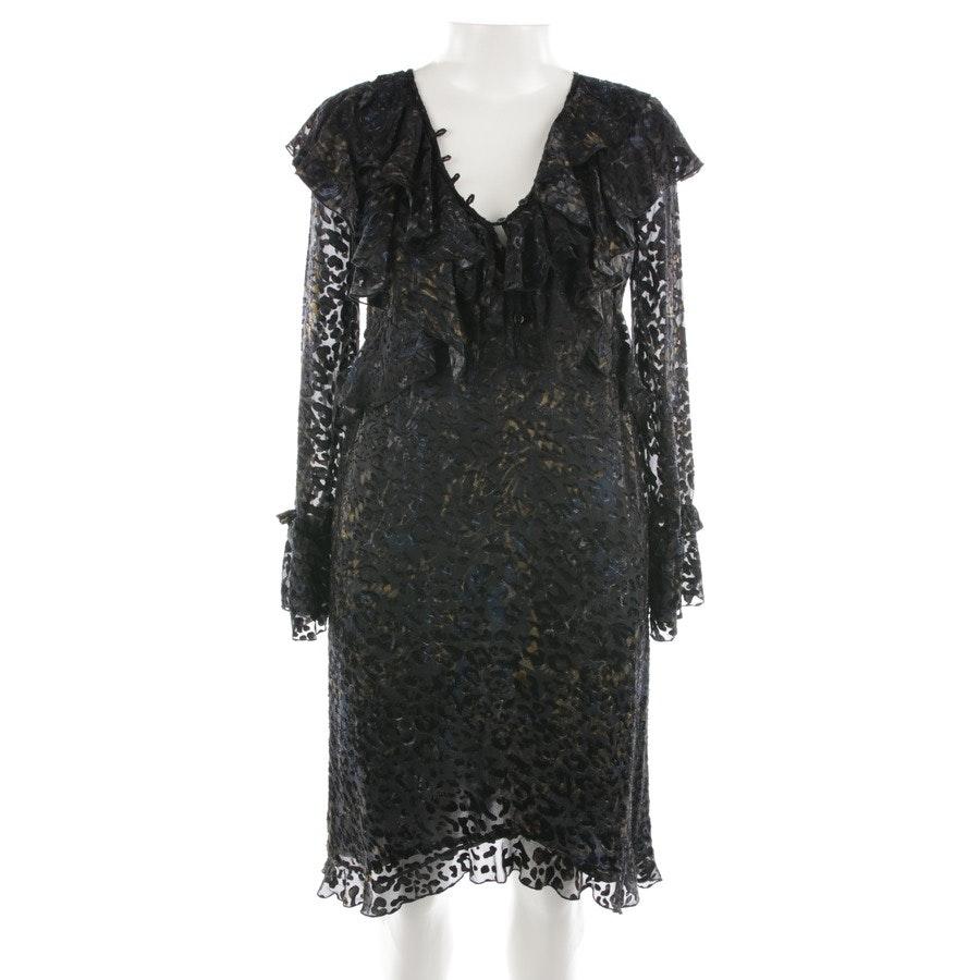 Kleid von Iro in Schwarz und Multicolor Gr. 36 FR 38