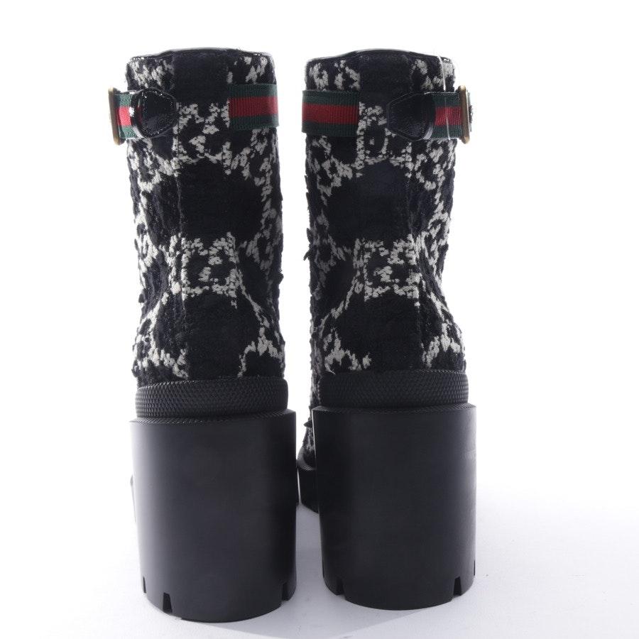 Stiefeletten von Gucci in Schwarz und Weiß Gr. EUR 39,5 Neu