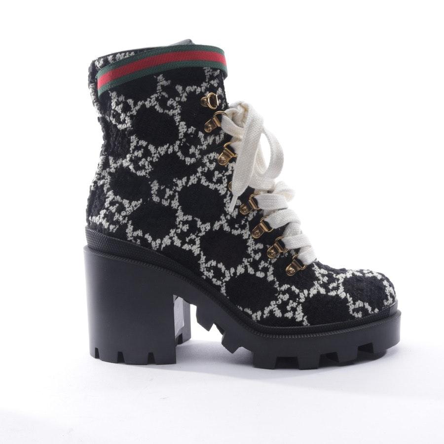 Stiefeletten von Gucci in Schwarz und Weiß Gr. EUR 41 Neu