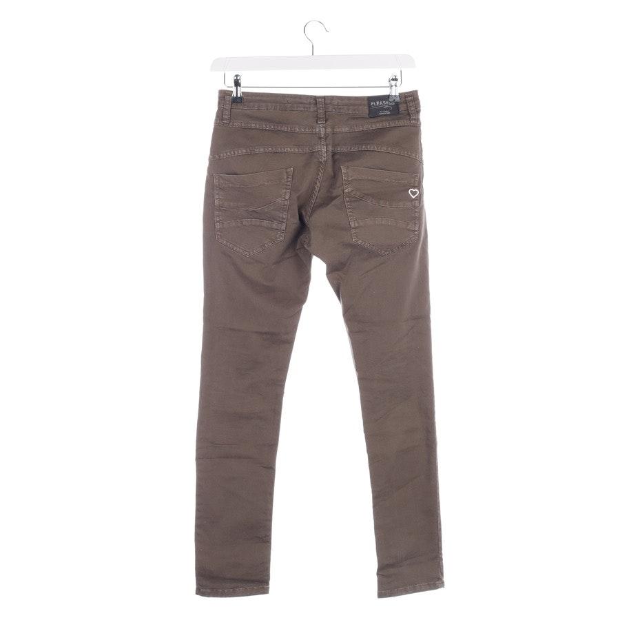 Jeans von Please in Olive Gr. W34