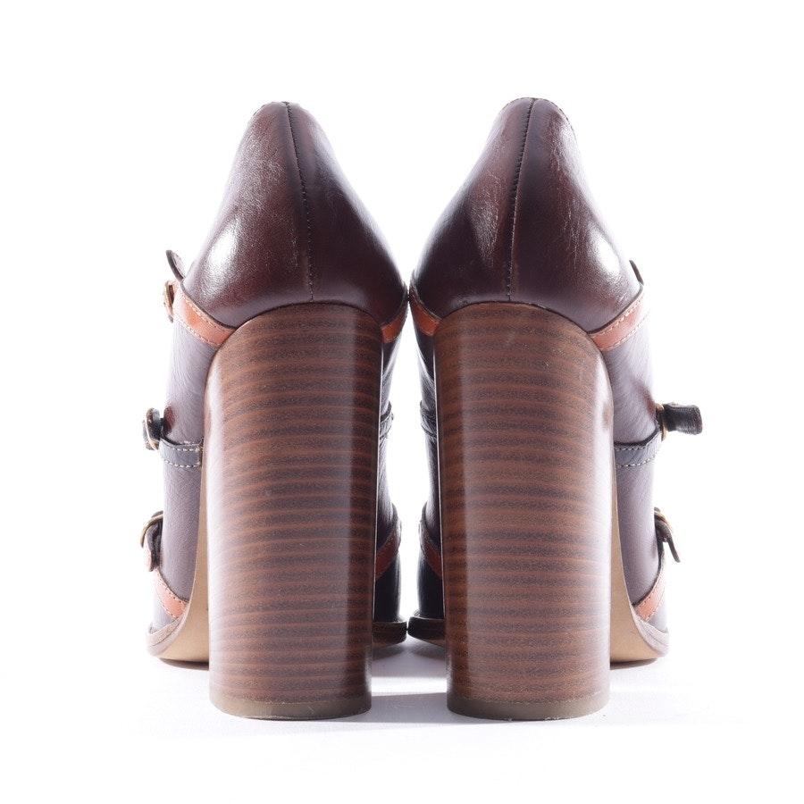 Pumps von Dolce & Gabbana in Cognac Gr. 41 EUR