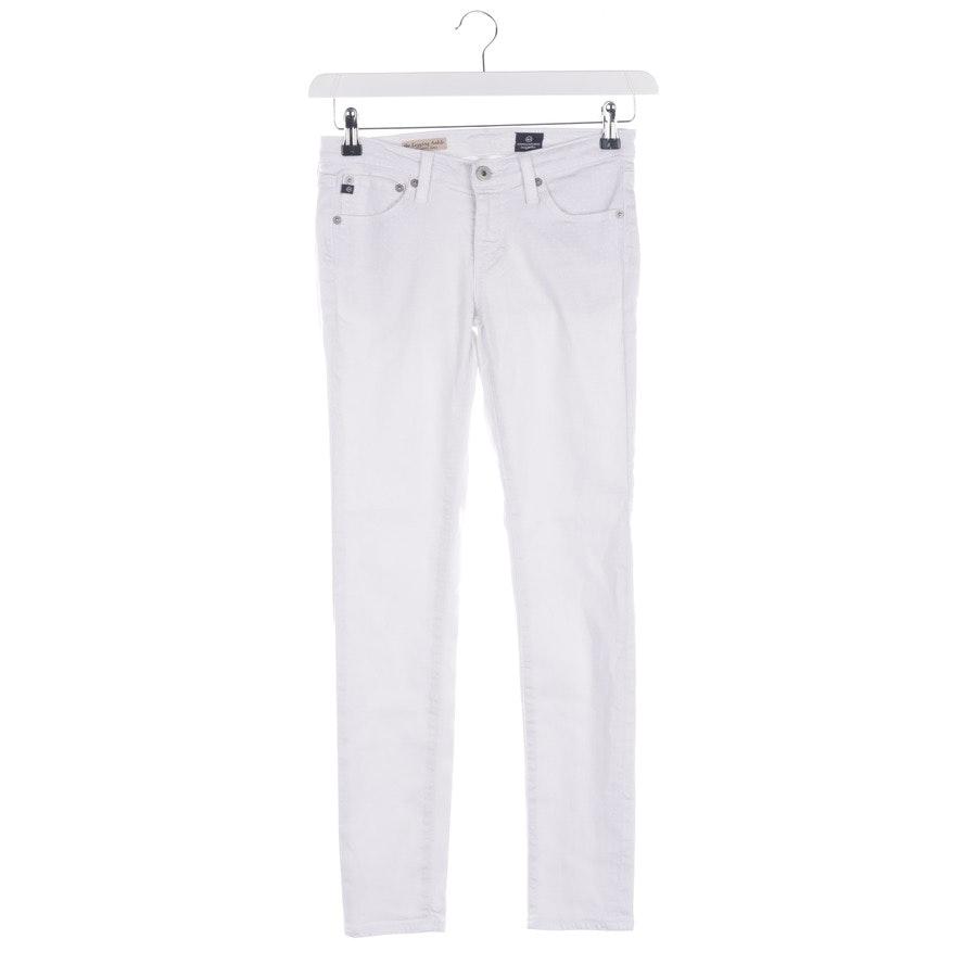 Jeans von AG Jeans in Weiß Gr. W 26