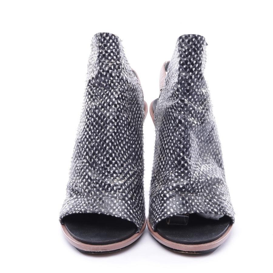 Sandaletten von Balenciaga in Schwarz und Altrosa Gr. EUR 38,5