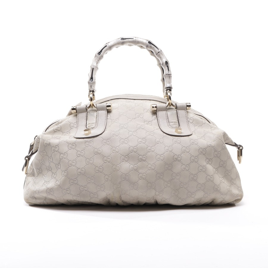 Handbag from Gucci in Beige Bamboo