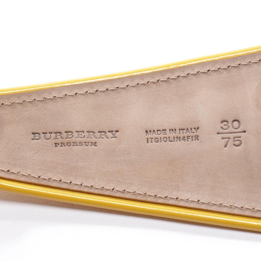 Gürtel von Burberry in Gelb Gr. 75 cm