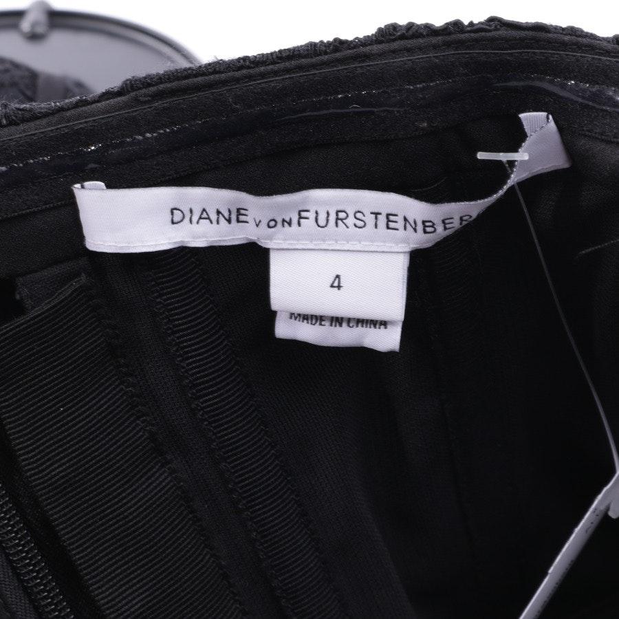 Spitzenkleid von Diane von Furstenberg in Schwarz Gr. 34 US4