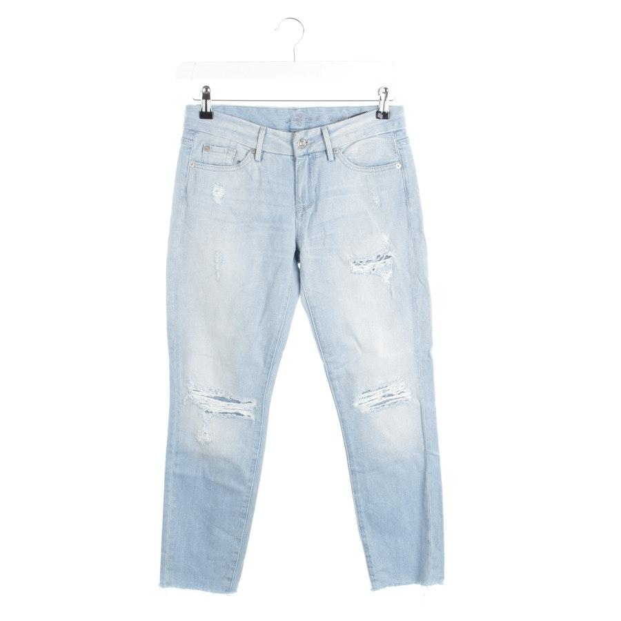 Jeans von 7 for all mankind in Hellblau Gr. W26 - Crop Cigarette