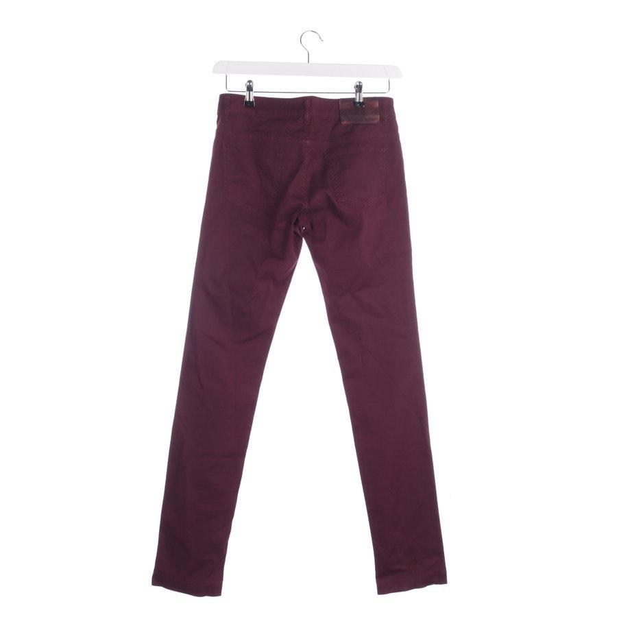 Jeans von Gucci in Bordeaux Gr. 36 IT 42
