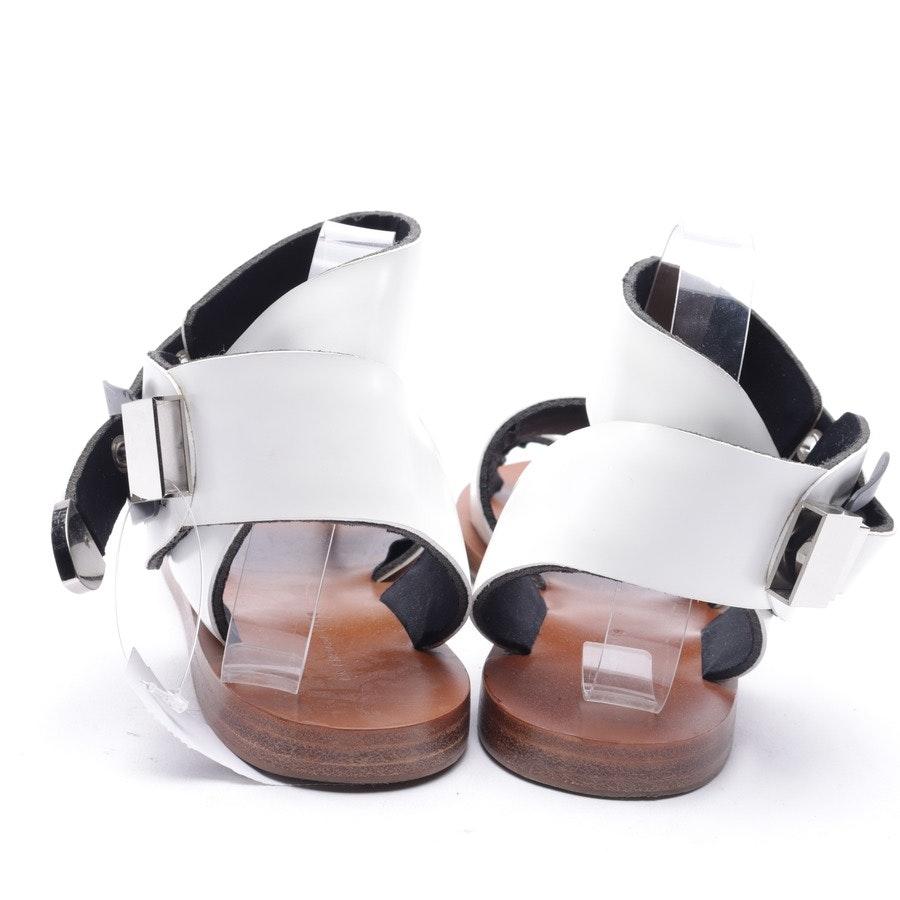 Sandalen von Balenciaga in Weiß Gr. 39 EUR