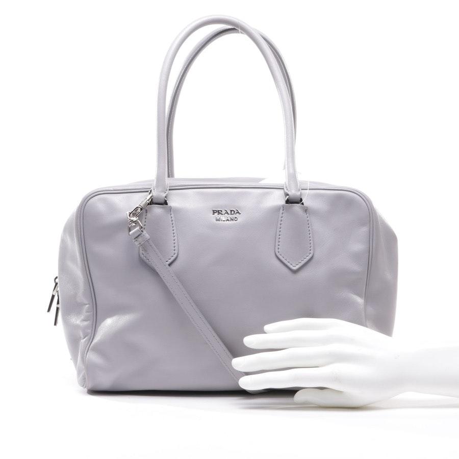 Handtasche von Prada in Hellgrau